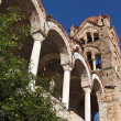 Monastery of Pantanassa at Mystras in Greece - Stockfoto