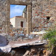Fortified village of Monemvasia in Greece — Stock Photo