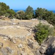 Ancient site at Samothrace island in Greece - Stock Photo