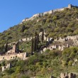 Stock Photo: Fortified medieval historical city of Mystras at Greece
