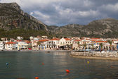 Traditional village and bay of Monemvasia at Greece — Стоковое фото