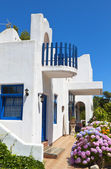 Traditional house at Samothraki island in Greece — Stock Photo