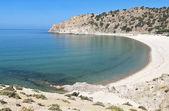 Spiaggia di isola di samothraki in grecia — Foto Stock