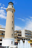 Der leuchtturm der stadt alexandroupolis in griechenland — Stockfoto