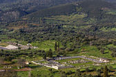 Gamla messene på kalamata i grekland — Stockfoto