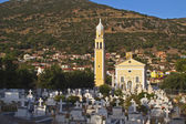 Traditional Greek orthodox church at Kefalonia island — Stock Photo