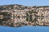 City of Argostoli at Kefalonia island in Greece — Stock Photo