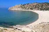 Pahia ammos beach na wyspie samothraki island w grecji — Zdjęcie stockowe