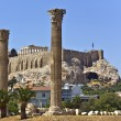 Stock Photo: Temple of Olympian Zeus in Athens, Greece