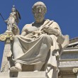 Plato statue at the Academy of Athens in Greece — Стоковая фотография