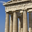 Stock Photo: Parthenon temple at Acropolis of Athens in Greece