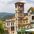 Old orthodox church at Florina city in Greece - Stock Photo