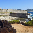 Castle and coast of Methoni in Greece — Stock Photo