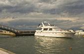 Marina at Volos city in Greece — Stock Photo