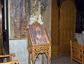 Interiér kostela svaté dimitrios thessaloniki, řecko — Stock fotografie
