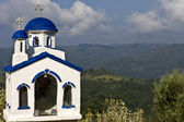 Arcadian landscape and chaplet at Peloponnisos, Greece — Stock Photo