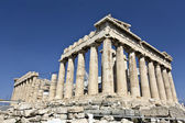 Parthenon temple at the Acropolis of Athens in Greece — Stock Photo