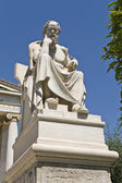 Socrates statue at the Academy of Athens, Greece — Stock Photo