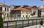 Traditional city of Florina at north Greece — Stock Photo