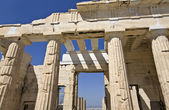 Propylaea at the Acropolis of Athens in Greece — Stock Photo