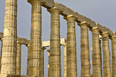 Temple of Poseidon at cape sounio, Attica, Greece — Stock Photo