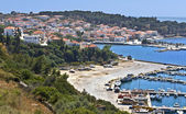 Traditional village of Pylos, at Peloponnisos, Greece — Stock Photo