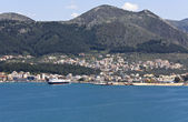 Igoumenitsa harbor in Greece — Stock Photo