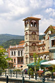 Old orthodox church at Florina city in Greece — Stock Photo