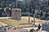 Tempel des olympischen zeus in athen, griechenland — Stockfoto