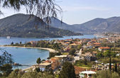 Nydri bay at Lefkada island, Greece — Stock Photo