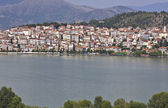 Kastoria traditionelle altstadt am see in griechenland — Stockfoto