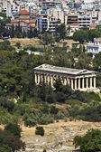 Temple of Hephaestus at ancient agora of Athens, Greece — Stock Photo