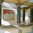 Ancient Knossos palace at Crete, island in Greece. — Stock Photo