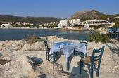 Aegina island at the mediterranean sea in Greece — Stock Photo