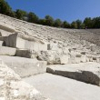 Amphitheater of Epidaurus at Peloponnese, Greece — Foto Stock