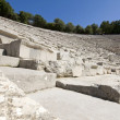 Amphitheater of Epidaurus at Peloponnese, Greece — 图库照片