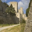 Castle of the Knights at Rhodes island in Greece — Stock Photo