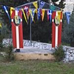 Church of Saint Ioannis at Lefkada island, Greece — Stock Photo