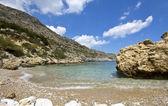 Antoni regina beach al rodos isola in grecia — Foto Stock