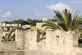 Castle of the Knights at Rhodes island, Greece — Stock Photo