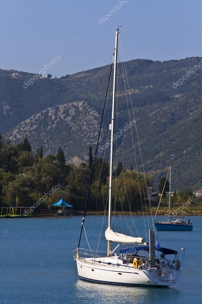Nydri bay at Lefkada island, Greece  — Stock Photo #13254813