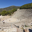 Ancient amphitheater of Epidaurus in Greece — Stock Photo