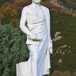 Aristotle statue located at Stageira in Greece — Lizenzfreies Foto