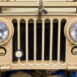 Collectible old ww2 jeep vehicle — Stock Photo #13263577