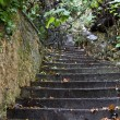 Old passage with stone steps — Stock Photo