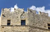 Acropoli di Lindos a Rodi in Grecia — Foto Stock