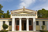 Old archaeological museum at ancient Olympia, Greece — Stock Photo