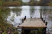 在埃德萨,希腊湖 vriton — 图库照片