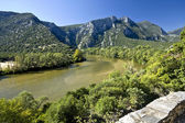 Nestos river at Thrace, Greece — Stock Photo