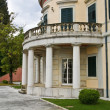 Mon Repo palace at Corfu island, Greece — Stock Photo